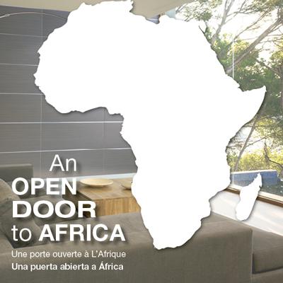An open door to África